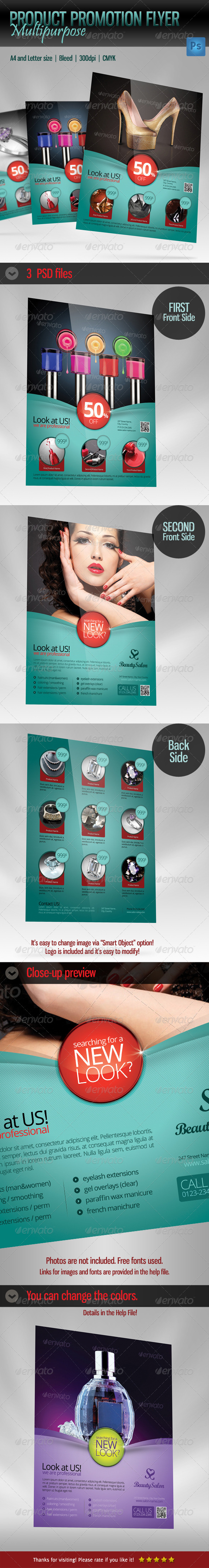 GraphicRiver Product Promotion Flyer Template Multipurpose 4758278