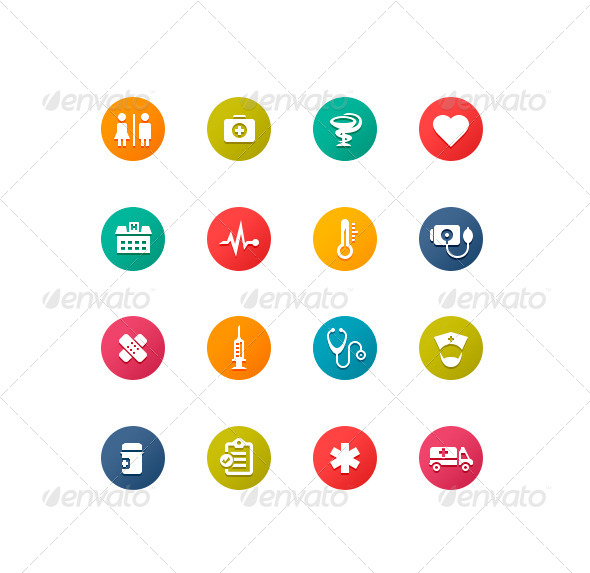 GraphicRiver Healthcare Symbols 4758334