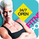 Fitness/Gym Business Promotion Flyer V2 - GraphicRiver Item for Sale