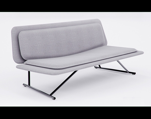 3D model of Sofa Lapalma Boarding