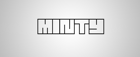 Minty scripts logo alternate