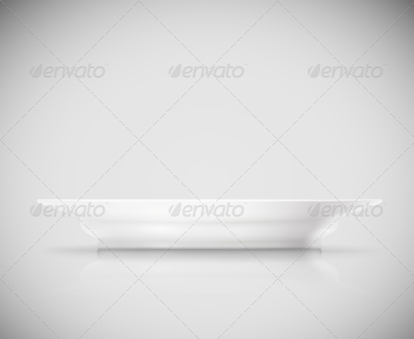 GraphicRiver Isolated Plate 4758774