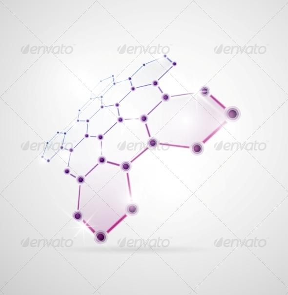 GraphicRiver Molecular Structure 4758806