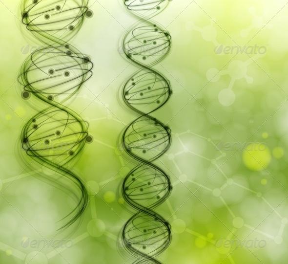 GraphicRiver DNA Molecules 4758827