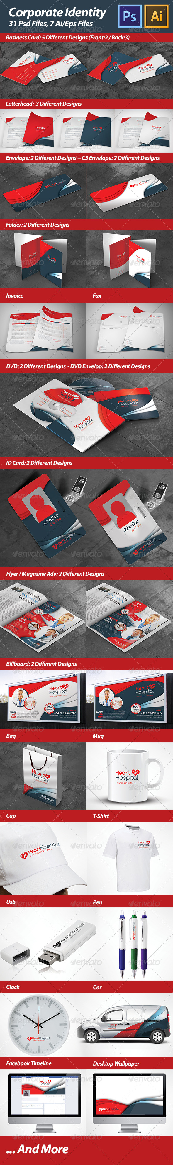 GraphicRiver Corporate Identity 4758830