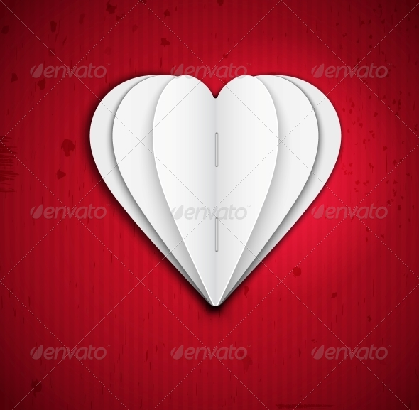 GraphicRiver Heart of Paper 4758837