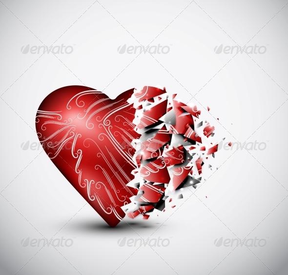GraphicRiver Broken Heart 4758839