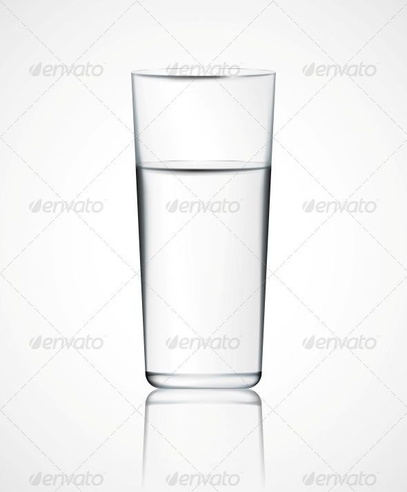 GraphicRiver Glass of Water 4758840