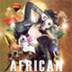African Night Flyer - GraphicRiver Item for Sale