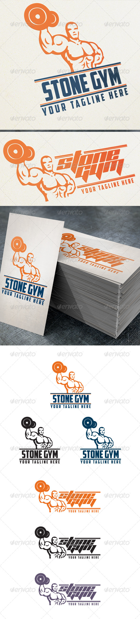 GraphicRiver Stone Gym 4759297