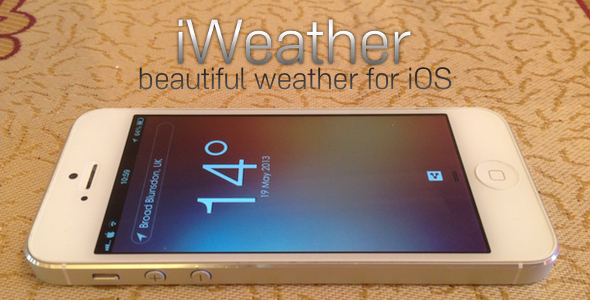 CodeCanyon iWeather a beautiful weather client for iOS 4759358