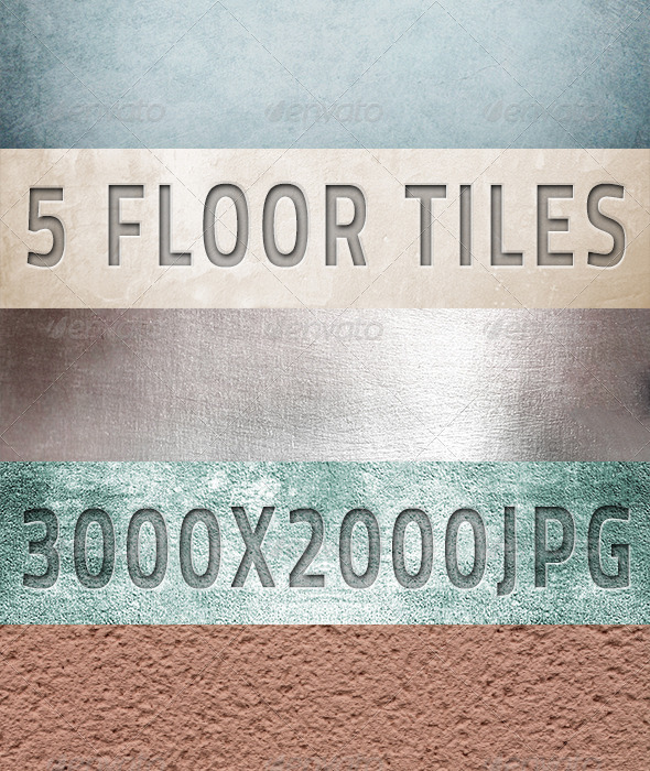 GraphicRiver 5 Ceramic & Sandstone Tiles 4527705