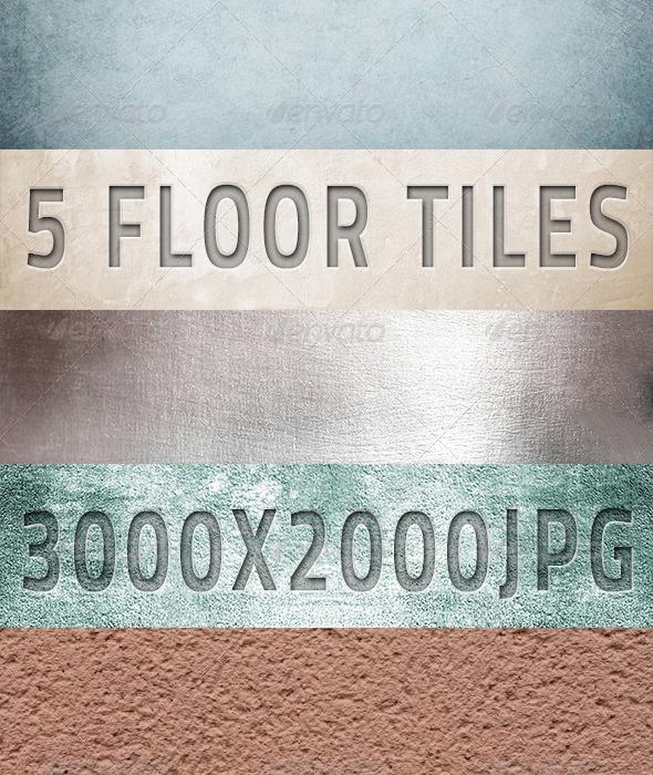 5 Ceramic & Sandstone Tiles