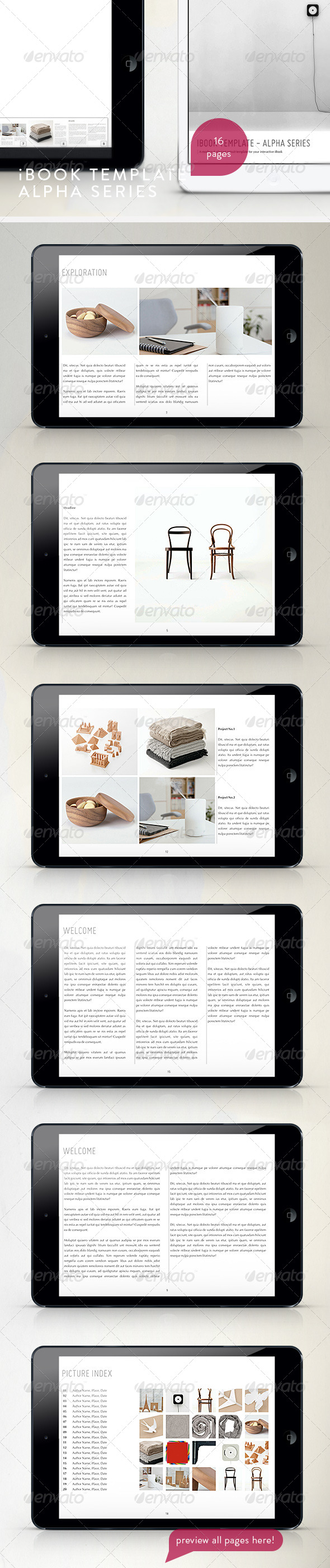 GraphicRiver Modern Tablet Templete Vol.2 4759435