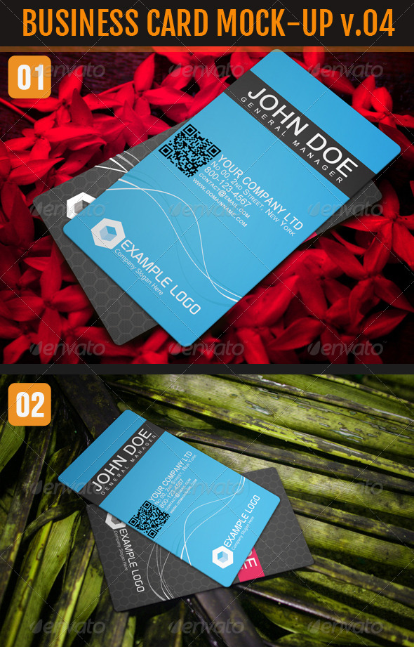 Business card mockup bundle graphics designs templates page 18 reheart Image collections