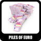 Pile Of Euros - GraphicRiver Item for Sale
