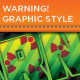 Warning Graphic Styles - GraphicRiver Item for Sale