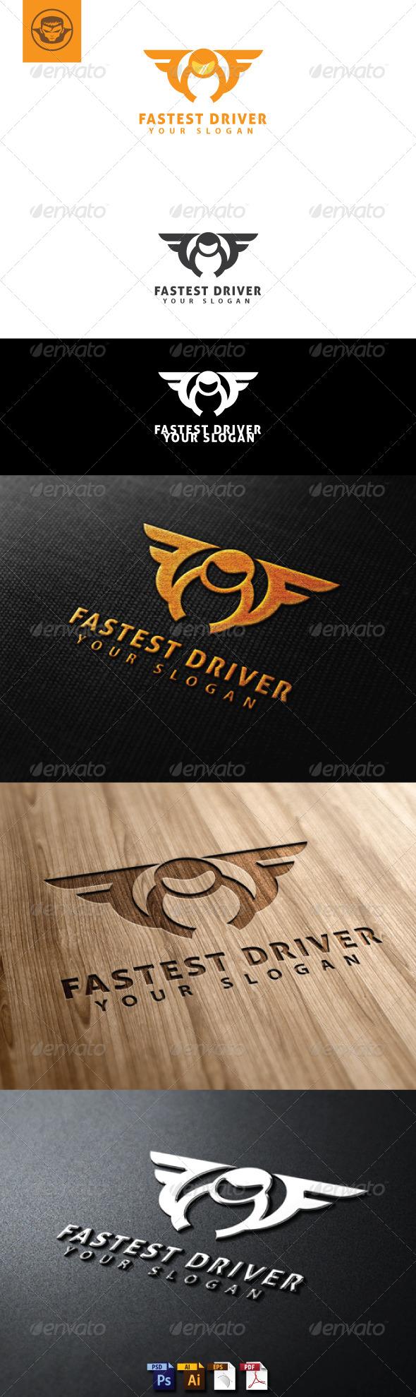 GraphicRiver Fastest Driver Logo Template 4759948