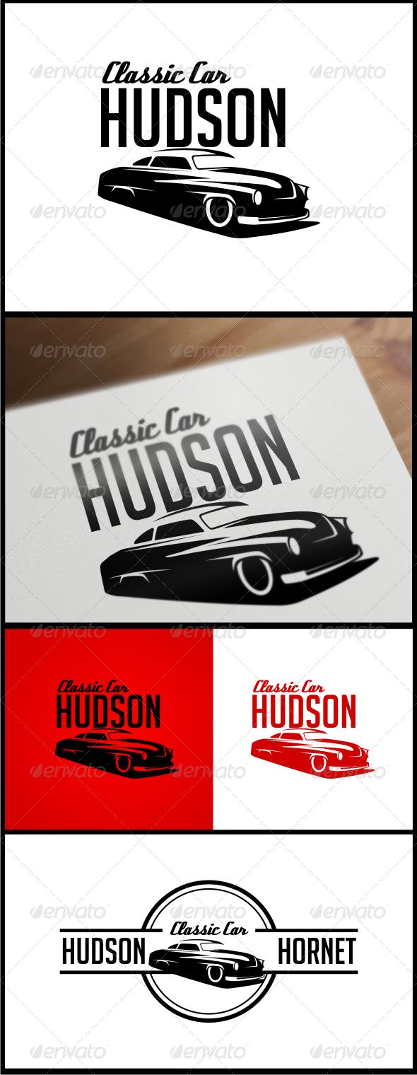 GraphicRiver Classic Car Hudson Logo Templates 4760134