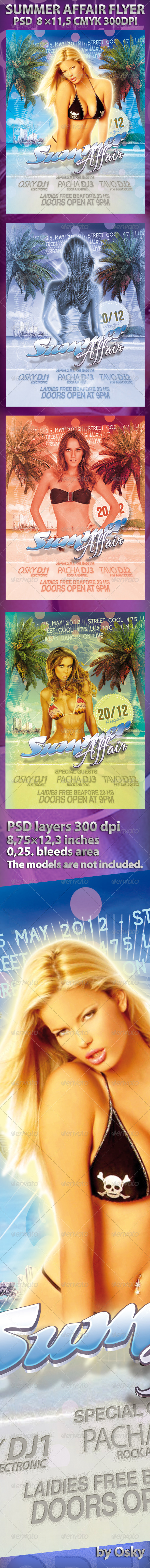 Summer Affair Flyer