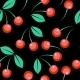 Seamless Cherry Ornament  - GraphicRiver Item for Sale