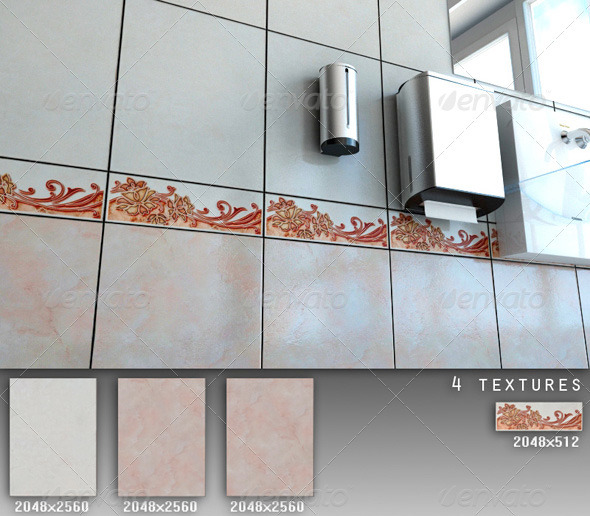 3DOcean Professional Ceramic Tile Collection C041 496444