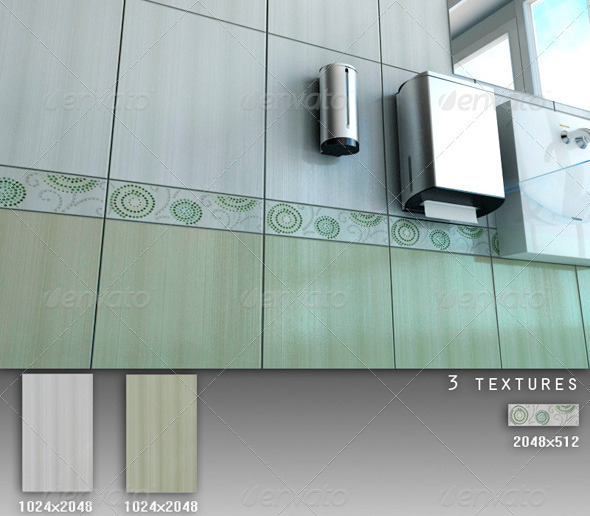 3DOcean Professional Ceramic Tile Collection C042 496446