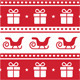 Christmas card, seamless pattern - GraphicRiver Item for Sale