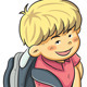 Boy Go to School - GraphicRiver Item for Sale
