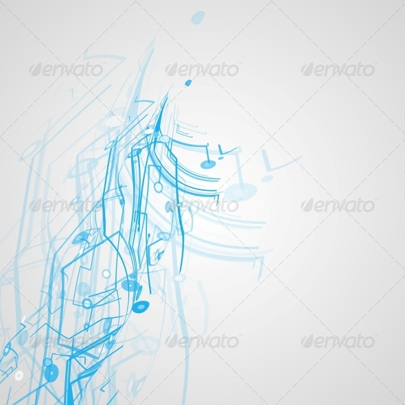 GraphicRiver Futuristic Technology Illustration 4761522