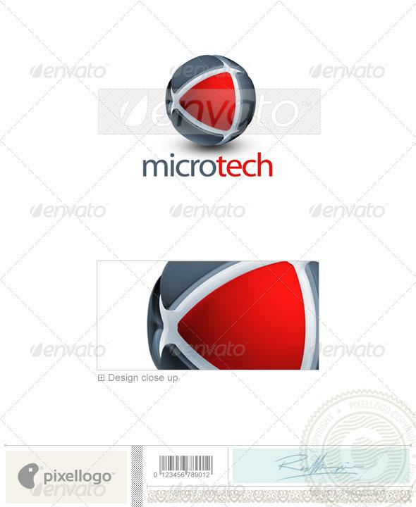 Technology Logo - 3D-280