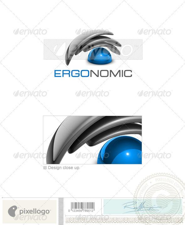 Technology Logo - 3D-414