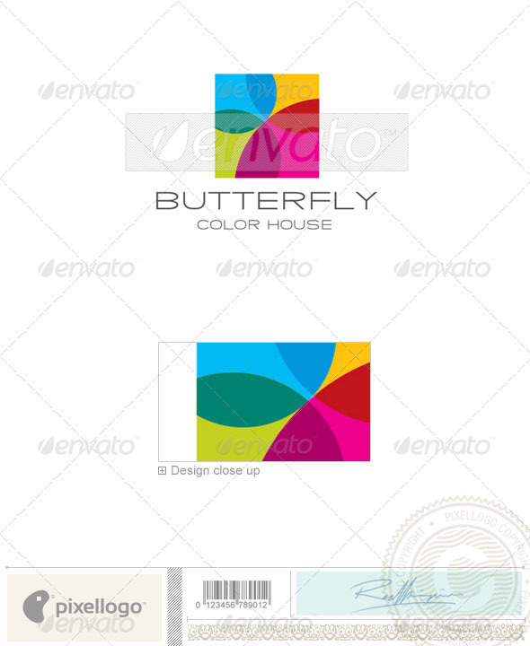 Print & Design Logo - 1959 - Animals Logo Templates