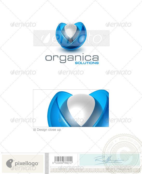 Technology Logo - 3D-332