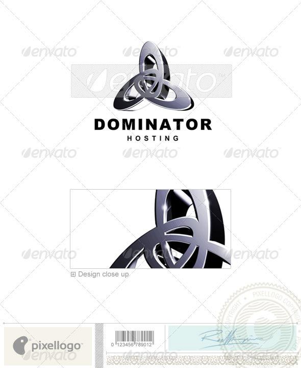 Technology Logo - 3D-74