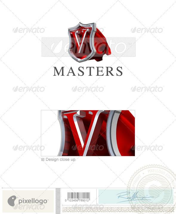 GraphicRiver V Logo 3D-259-V 496522