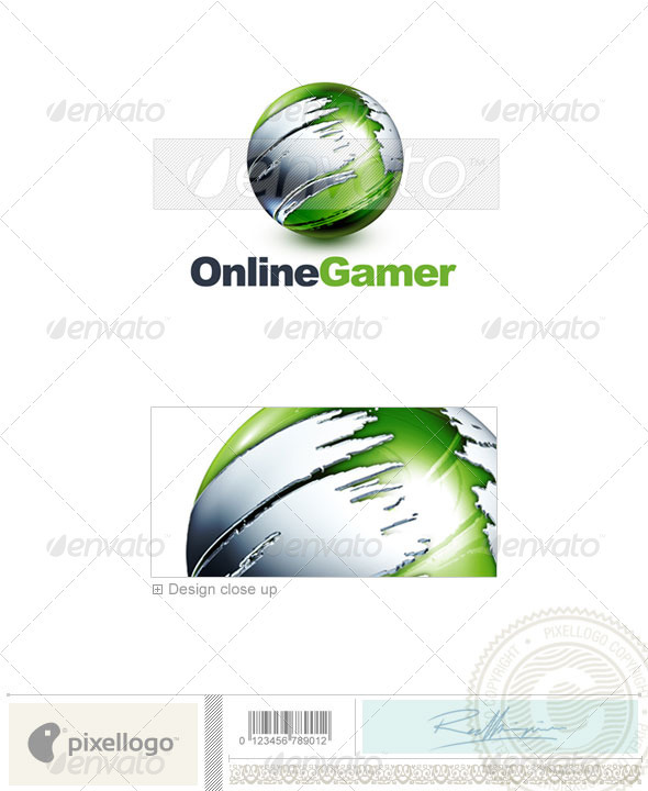 Communications Logo 3D-466