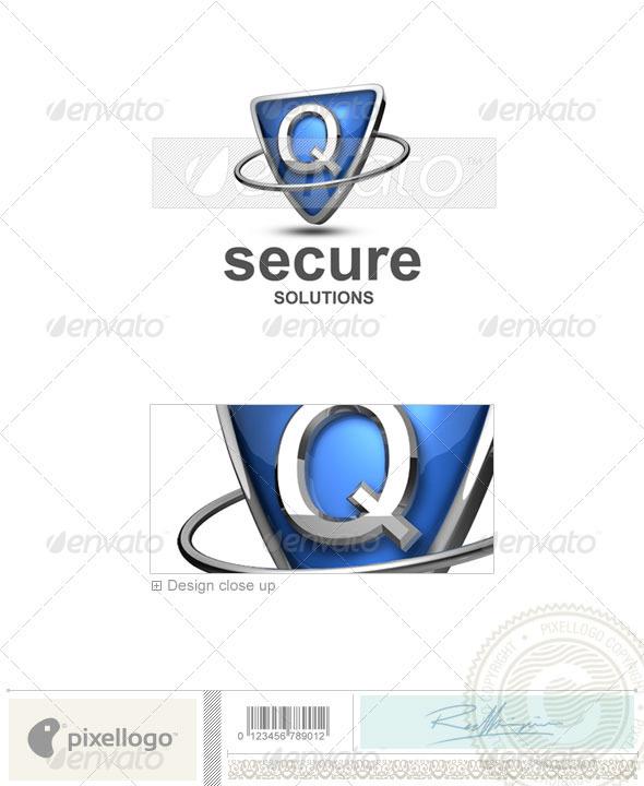Logo - 3D-285-Q ...Q Logo 3d