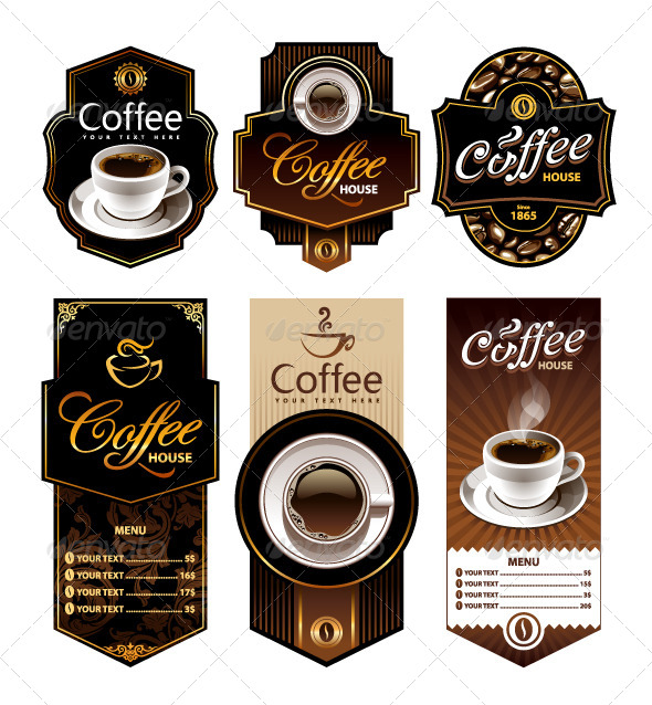GraphicRiver Coffee Design Banners 4762316