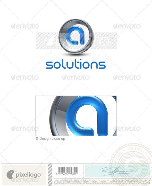 A Logo 3D-288-A
