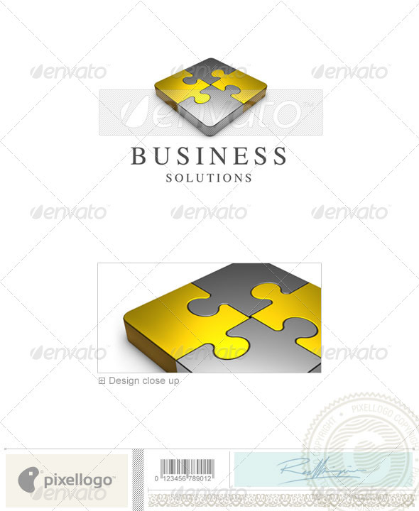 Business & Finance Logo - 3D-362 - 3d Abstract