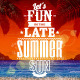 Summer Retro Poster - GraphicRiver Item for Sale