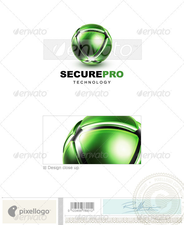 GraphicRiver Communications Logo 3D-457 496628