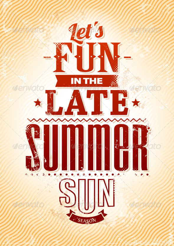 GraphicRiver Summer Typography 4762621