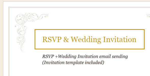 RSVP and Wedding Invitation (Forms) images