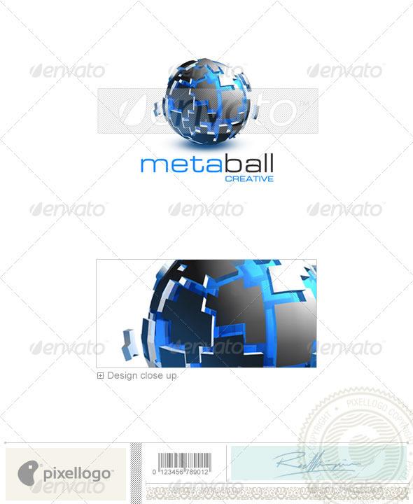 Technology Logo - 3D-271