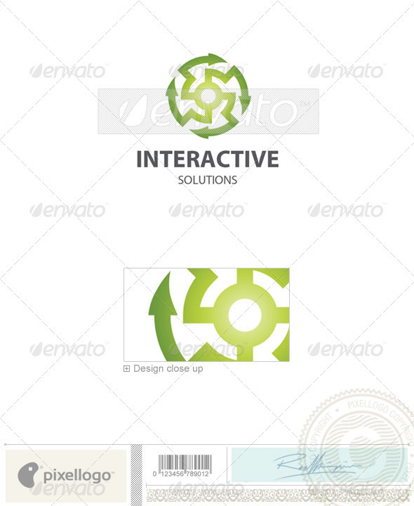 Technology Logo - 66 - Vector Abstract