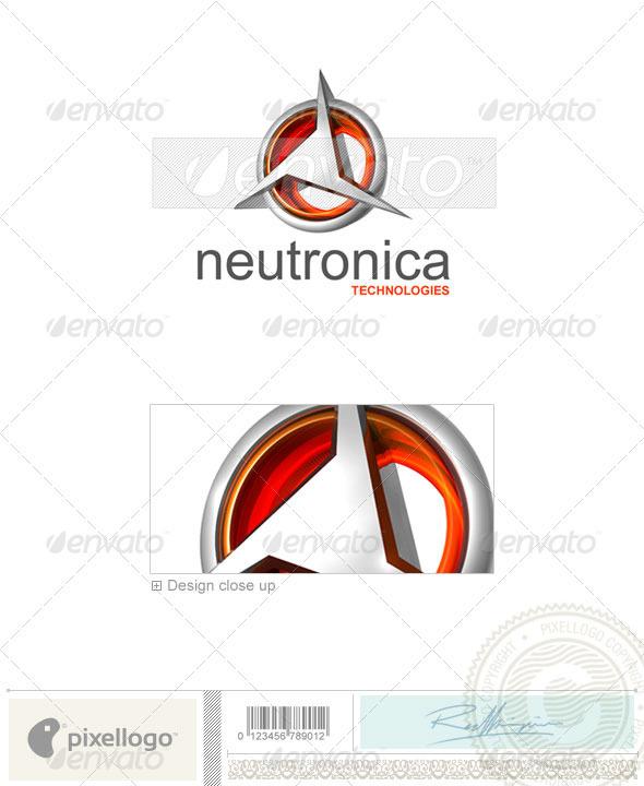 Technology Logo - 3D-349