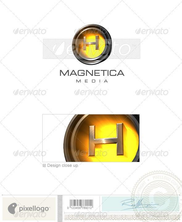 H Logo 3D-238-H
