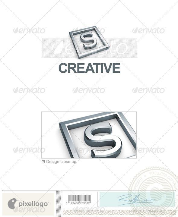 S Logo 3D-295-S